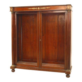 Pair of French Empire Style '19th Century' Bookcases For Sale