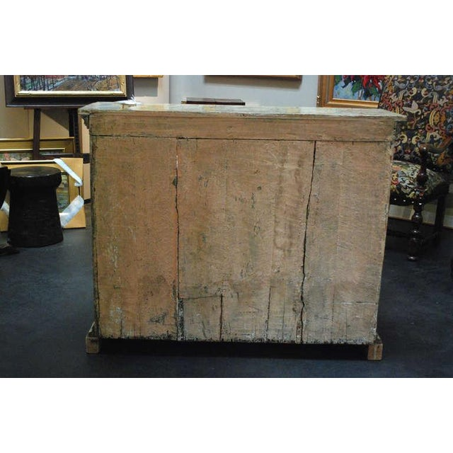 Mid 19th Century Early 19th C. Italian Neoclassical Painted Cabinet For Sale - Image 5 of 5