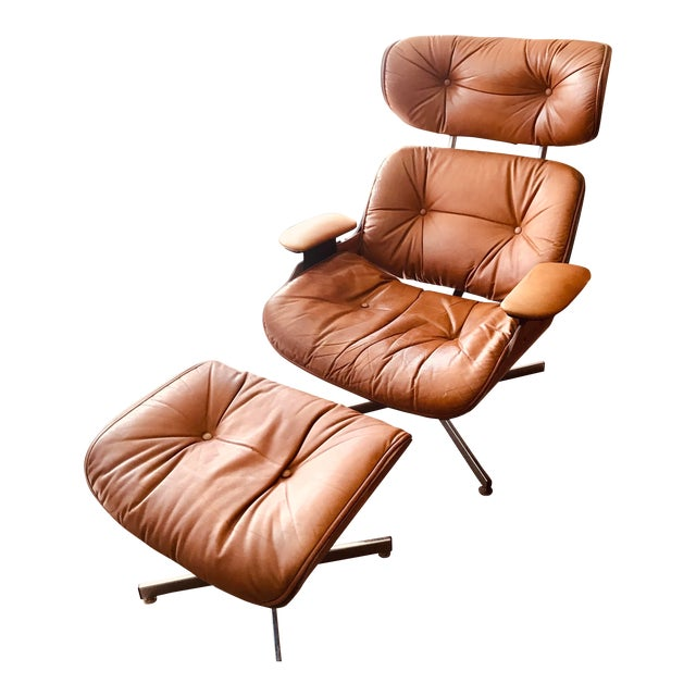 1975 Frank Doerner Mid-Century Modern Eames Style Chair For Sale