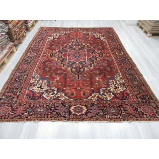 Vintage Decorative Large Persian Hareez Rug - 8′2″ × 11′1″ Preview