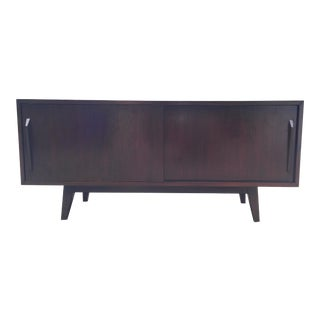 Rosewood and Teak Credenza For Sale