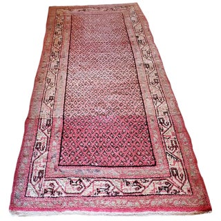"Persian Pink Rug-3'5'x8'4"" For Sale"