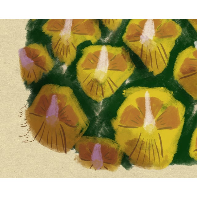 Modern Pineapple Wall Art, 2017 For Sale - Image 5 of 9