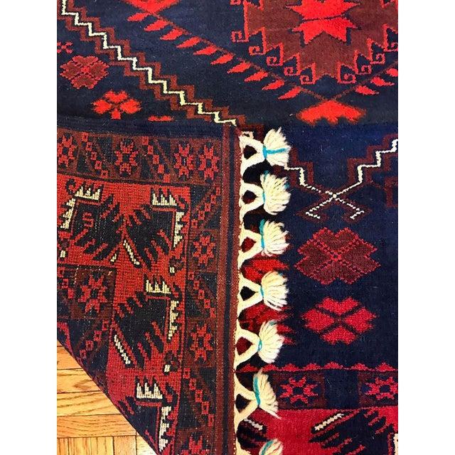 Antique Anatolian Bergama Wool Rug - 4'x6' - Image 6 of 6
