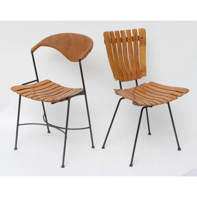 Mid-Century Modern Set of Four Arthur Umanoff Dining Chairs for Raymor For Sale - Image 3 of 10