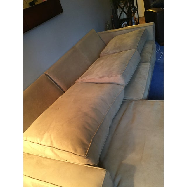 Room & Board York Sectional Sofa With Chaise Lounge - Image 4 of 11
