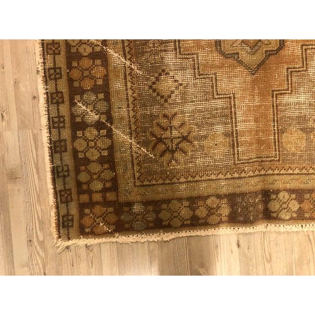 Turkish Anatolian Handmade Oushak Rug For Sale - Image 10 of 11