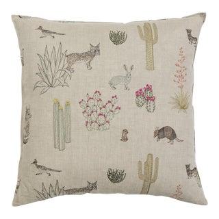 Saguaro Desert Friends Pillow
