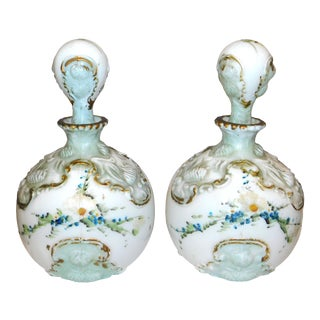 Late 19th Century Dithridge Vanity Bottles - a Pair For Sale