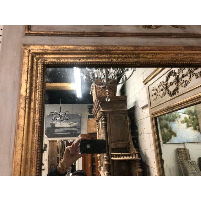 19th Century French Louis XVI Gilt Mirror For Sale In Atlanta - Image 6 of 8