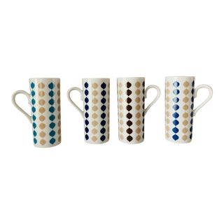 Mid-Century Modern Espresso/Demitasse Glasses - Set of 4 For Sale