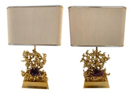 Image of Purple Table Lamps