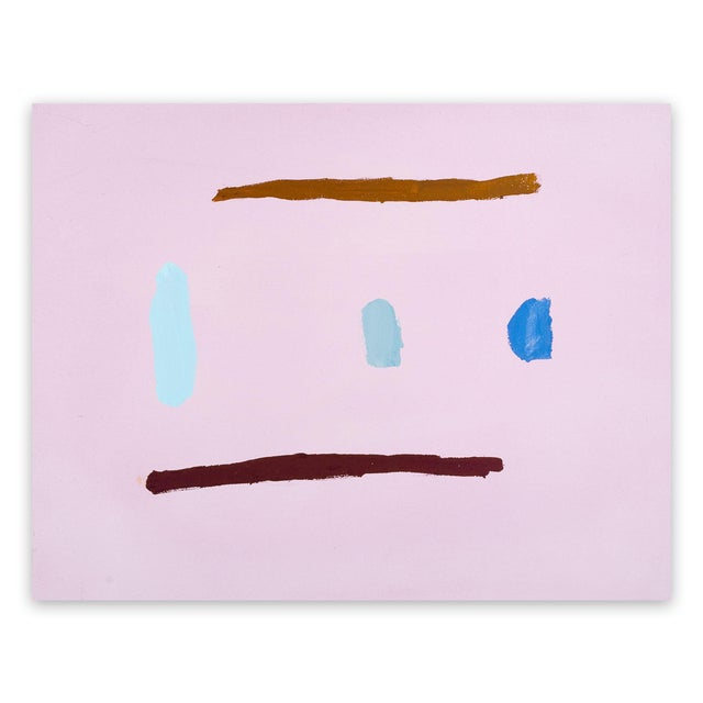 """Laura Newman Laura Newman """"Five Marks"""", Painting For Sale - Image 4 of 4"""