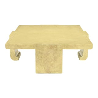 Alessandro for Baker Exquisitely Hand Lacquered Coffee Table For Sale