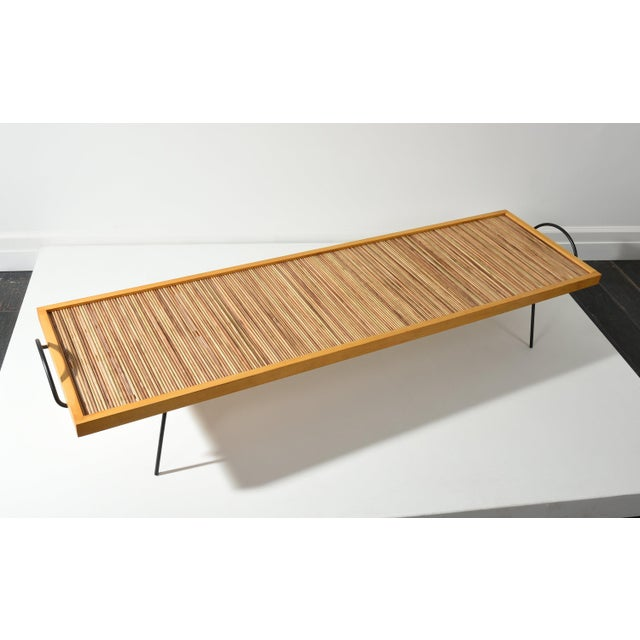 Birch LAVERNE TABLE BY WILLIAM KATAVOLOS, ROSS LITTELL AND DOUGLAS KELLEY, 1940S For Sale - Image 7 of 10