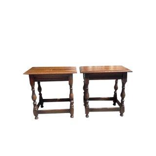 Vintage Kittinger Side Tables - A Pair