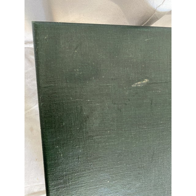Minic Custom Woodwork Linen Grasscloth Wrapped Ming Coffee Table For Sale In Tampa - Image 6 of 13