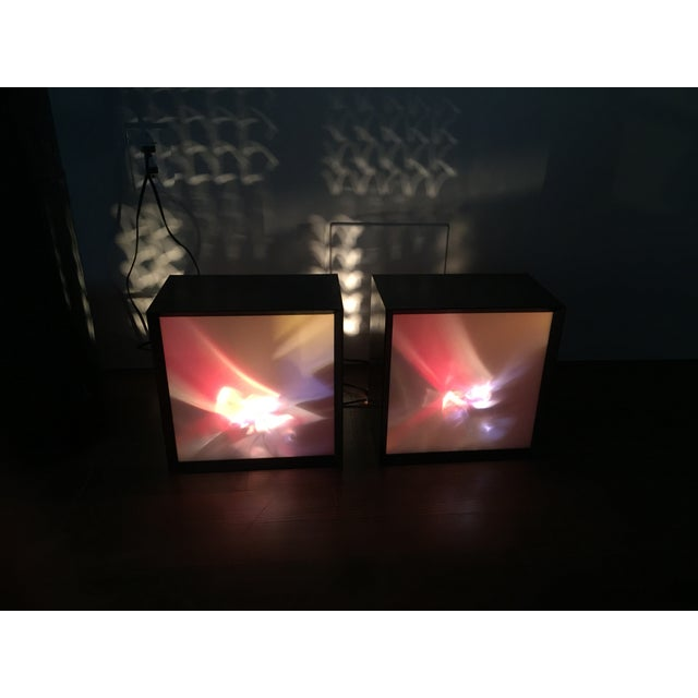 Earl Reiback 1960s Lumia Lightolier Lamps - Pair For Sale - Image 5 of 6
