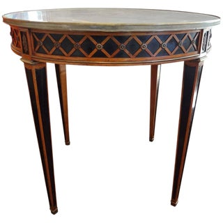 1940 French Louis XVI Style Maison Jansen Table For Sale