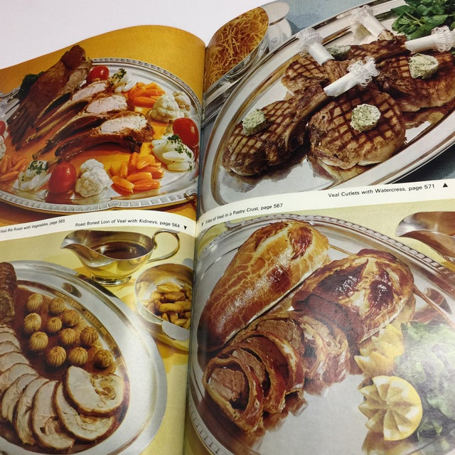 1966 Vintage Modern French Culinary Art Cook Book For Sale - Image 10 of 13