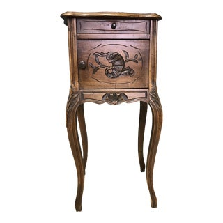 20th Century French Marble Top Commode For Sale