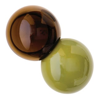 SkLO Meld Glass Object Green For Sale