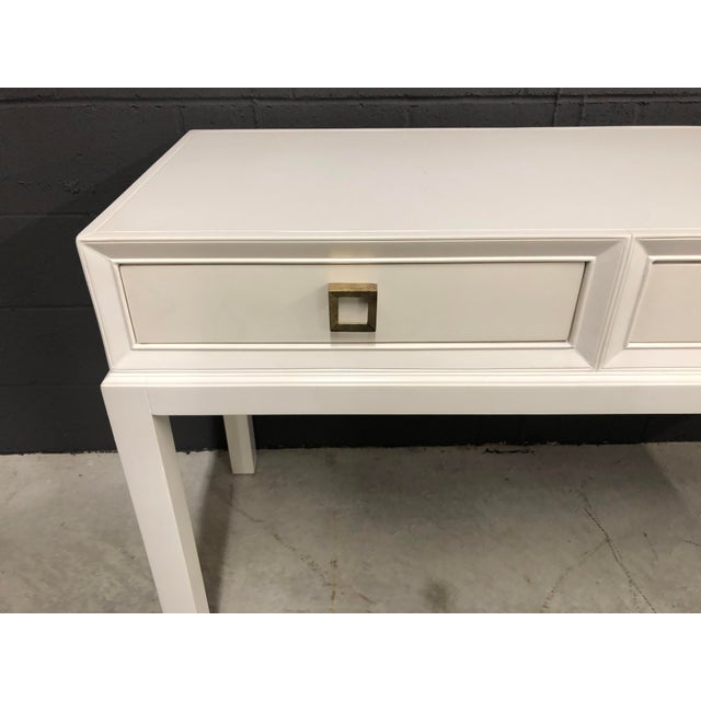 21st Century Modern Somerset Bay Console Table that will mix right in with your Modern or Vintage decor.