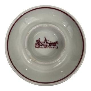 Hermes Style Ceramic Ashtray For Sale