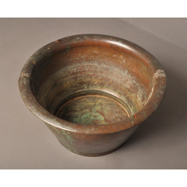 1920s Hammered Copper Pot, American- 1920s For Sale - Image 5 of 8