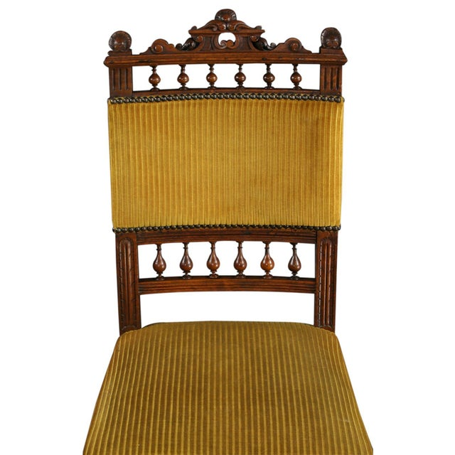 Antique French Dining Chairs Henry II - Set of 6 - Image 4 of 10