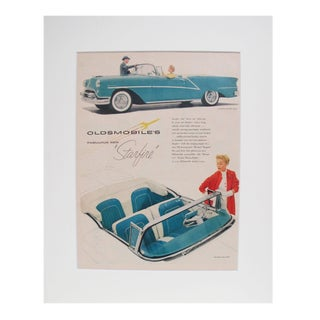 1960s Oldsmobiles Starfire Matted Advertisement For Sale
