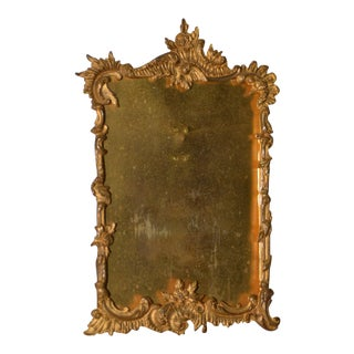 19th Century Gilded Free Standing Picture Frame For Sale