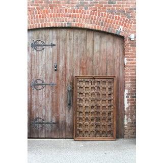 Antique Gujrat Carved Door Preview
