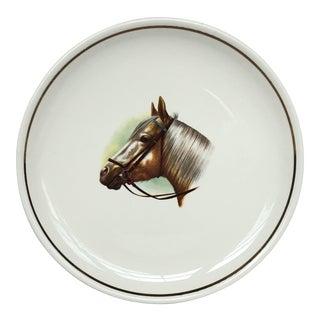 Equestrian Horse Decorative Plate For Sale