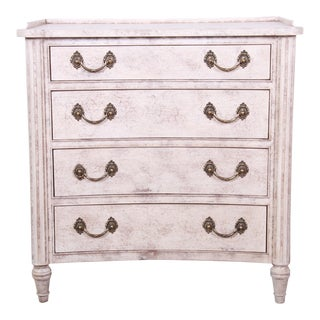 Councill Furniture Neoclassical Four-Drawer Bachelor Chest For Sale