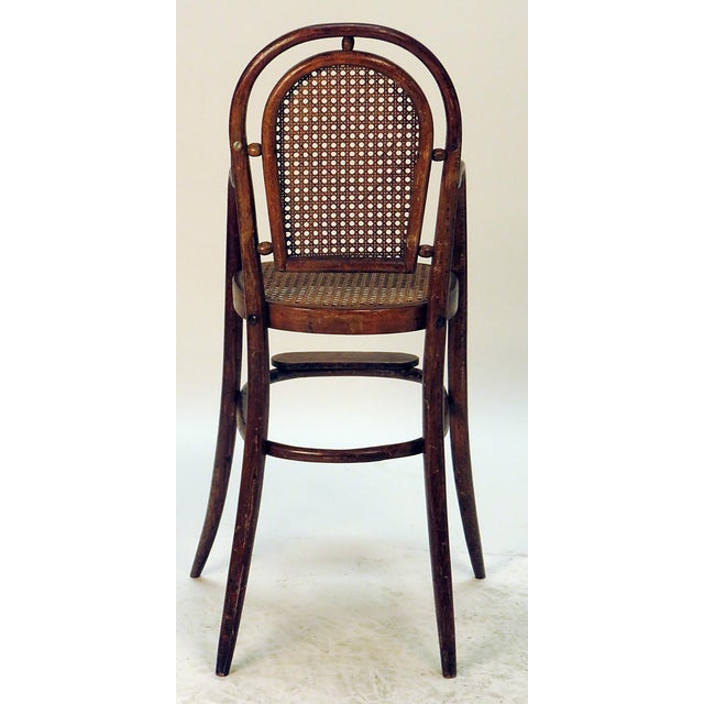 Thonet 1900s Rare Child Thonet Chair For Sale - Image 4 of 4
