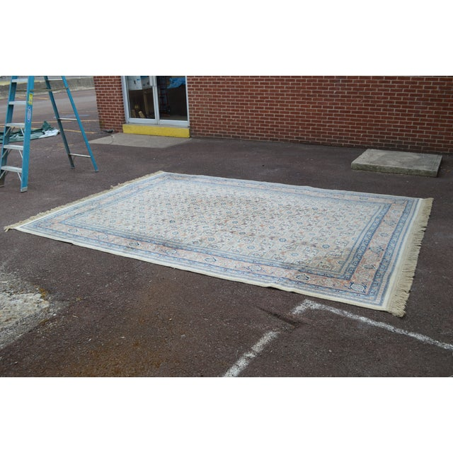 "Karastan #789 Herati 8'8"" x 12' Room Size Rug For Sale - Image 4 of 13"
