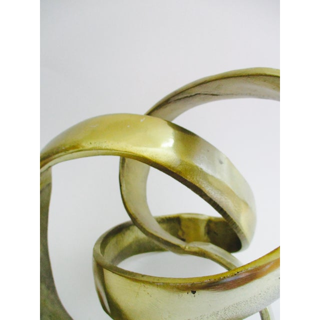 Modernist Abstract Free Form Sculpture or Bookend - Image 4 of 10
