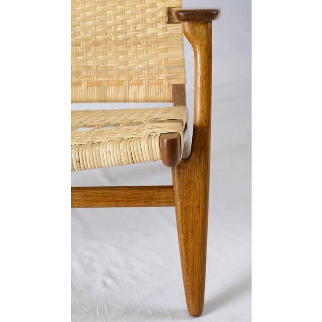Hans Wegner CH-27 Lounge Chair For Sale - Image 10 of 10