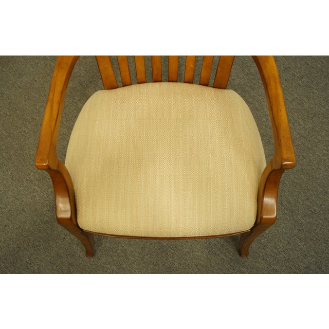 Late 20th Century Late 20th Century Thomasville Furniture Cinnamon Hill Collection Mission Style Dining Arm Chair For Sale - Image 5 of 11