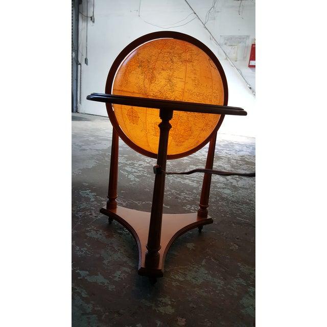 Replogle Vintage Illuminated Heirloom Globe For Sale - Image 10 of 11