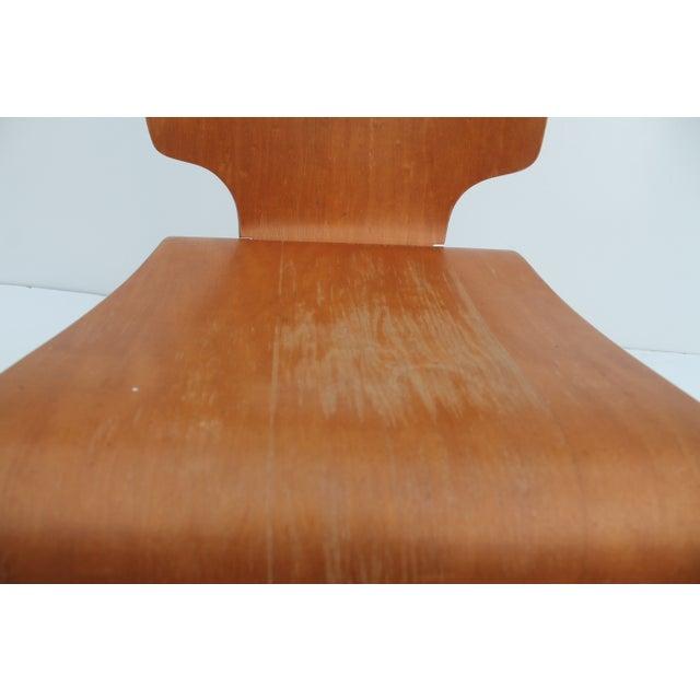 Wood Thaden Jordan Mid-Century Bentwood Birch Chair For Sale - Image 7 of 11
