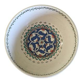 Altin Gini Handpainted Ceramic Bowl From Turkey