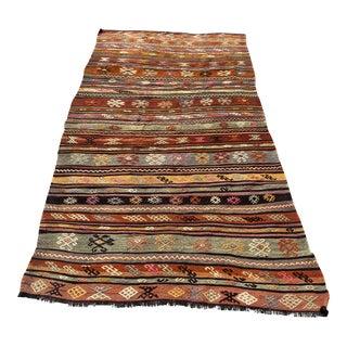 Turkish Handmade Vintage Rug For Sale