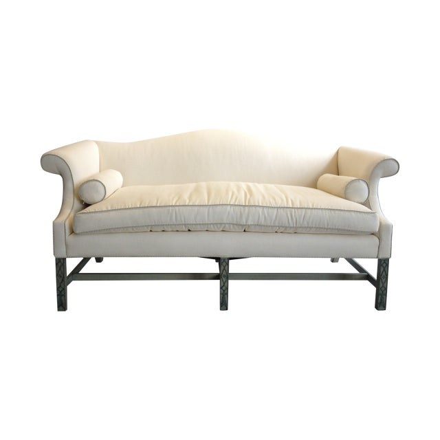 Kittinger Chippendale Sofa With Fretwork Legs - Image 1 of 5