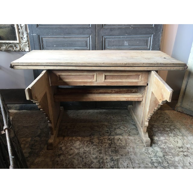 Antique Swiss Money Changing Table - Image 8 of 13