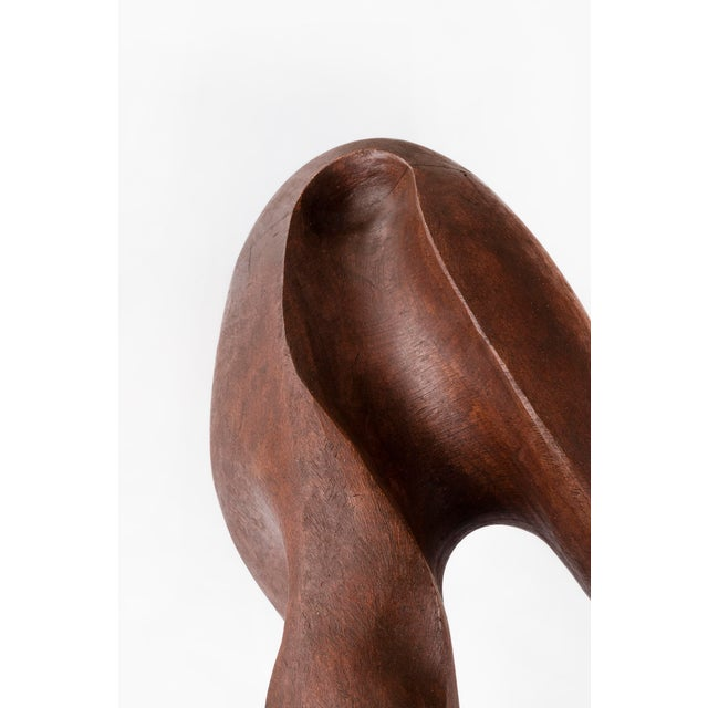 Brown Mario Dal Fabbro Sculpture For Sale - Image 8 of 9