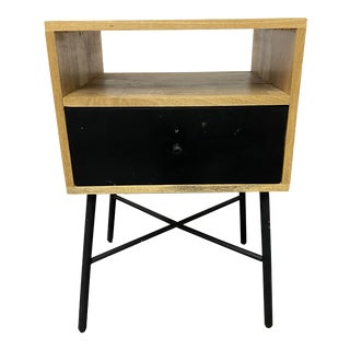 Mid Century Style Room & Board Side Table For Sale