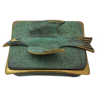Mid-Century Modern Dayagi Bird Box For Sale