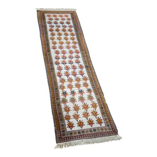 Mid 20th Century Vintage Persian Runner- 3′4″ × 11′4″ For Sale